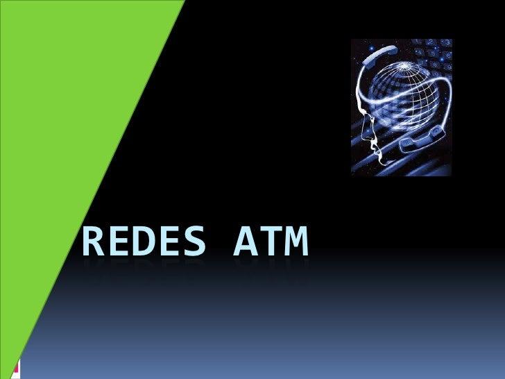Redes ATM<br />