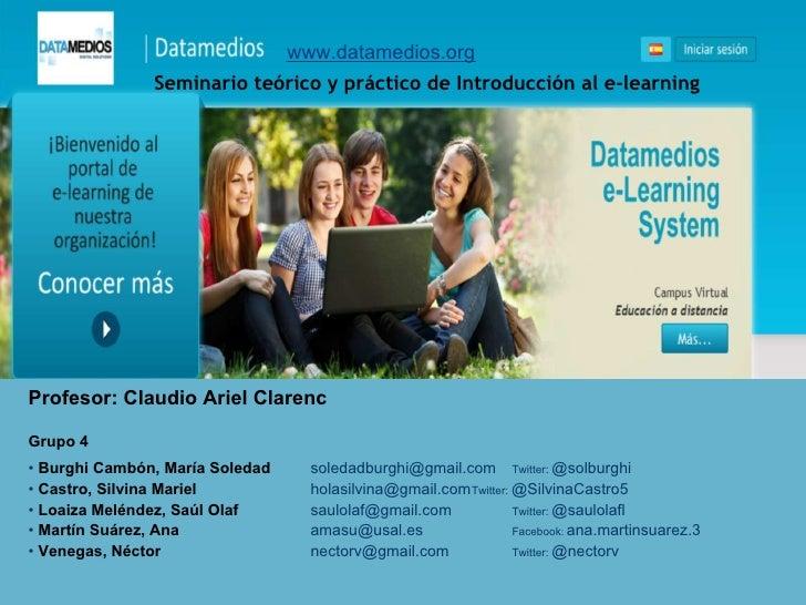 Grupo 4   e-learning