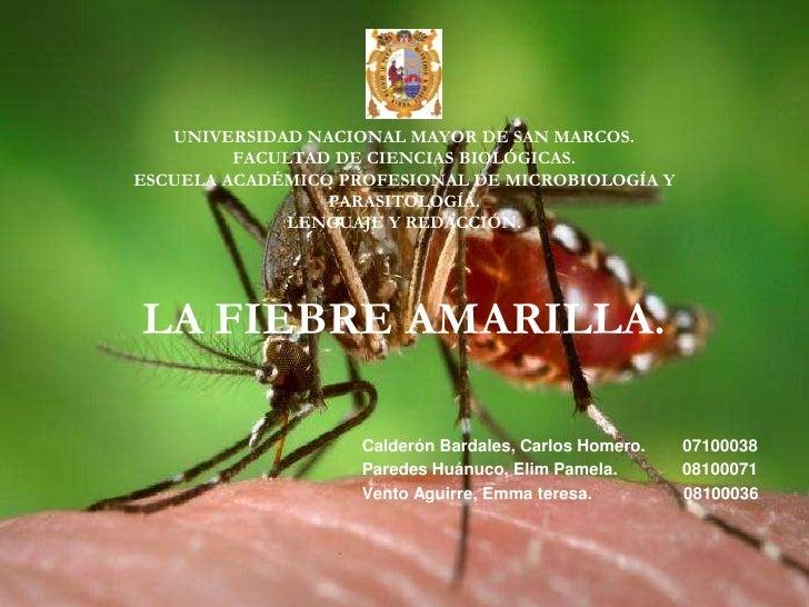 UNIVERSIDAD NACIONAL MAYOR DE SAN MARCOS.FACULTAD DE CIENCIAS BIOLÓGICAS.ESCUELA ACADÉMICO PROFESIONAL DE MICROBIOLOGÍA Y ...