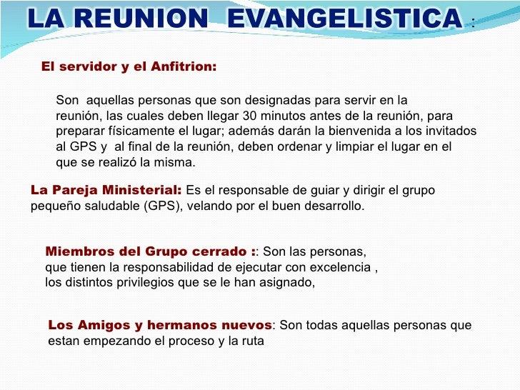 Reunion de oracion cristiana
