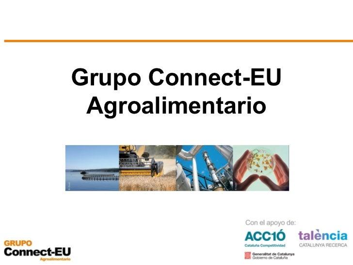Grupo Connect-EU Agroalimentario