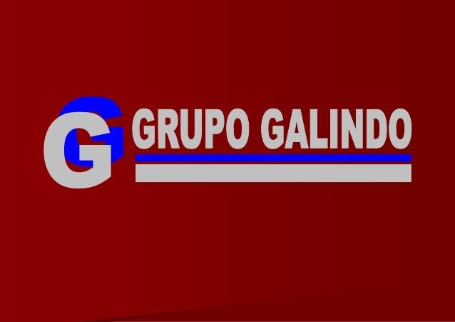 Grupo Galindo - Presentación Francés