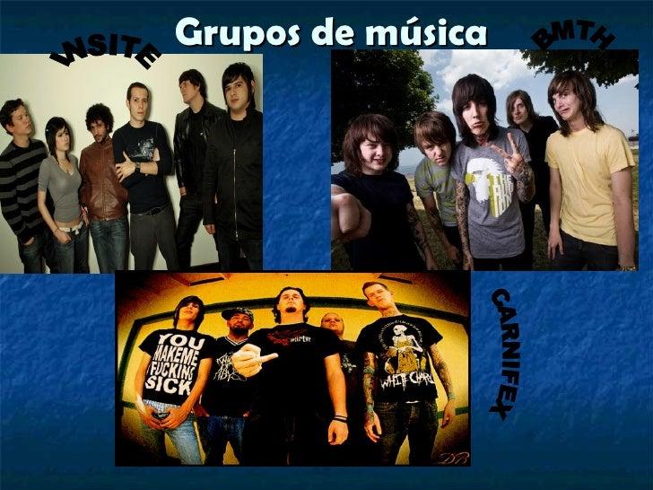 Grupos de música        .