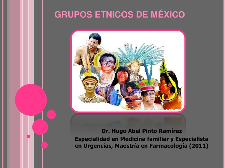 grupo etnicos de la republica: