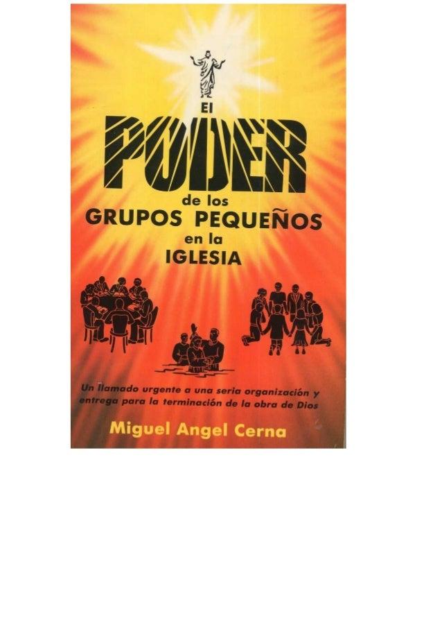 Libro: Grupos pequeños de poder