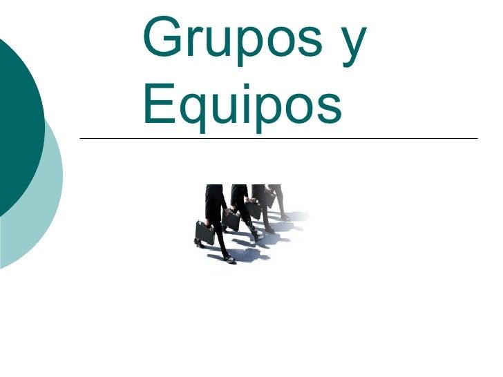 Grupoy equipo