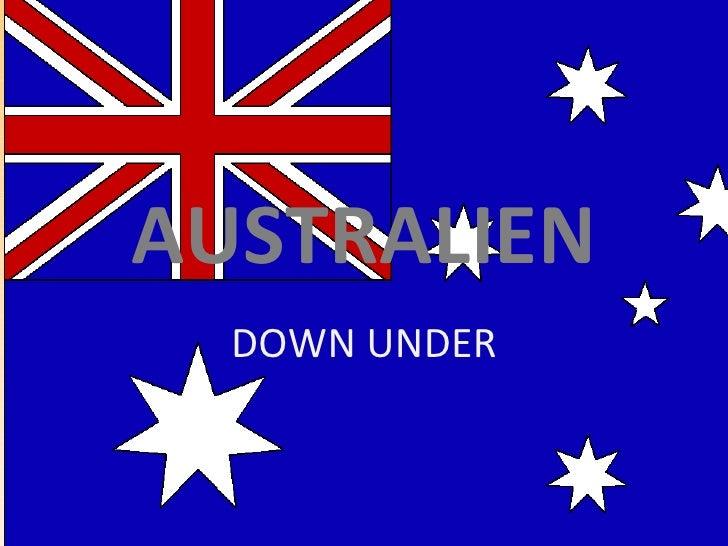 AUSTRALIEN DOWN UNDER
