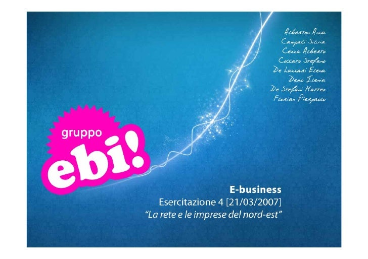 Gruppo EBI (A/K): Pmi e business