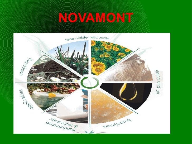 Bioplastics - Novamont Company