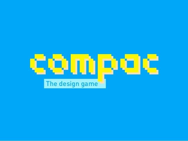 The design game