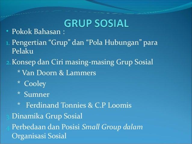 Grup sosial