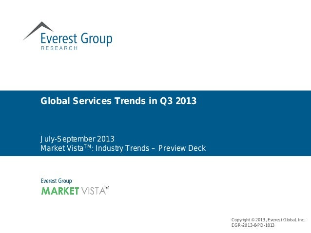Industry Trends Report - Q3 2013 - Preview Deck