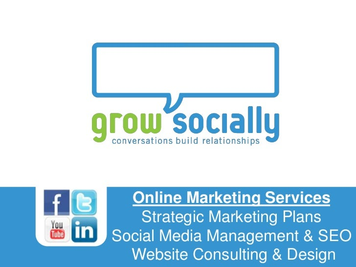 Online Marketing Services                                        Strategic Marketing PlansTitle of Presentation           ...