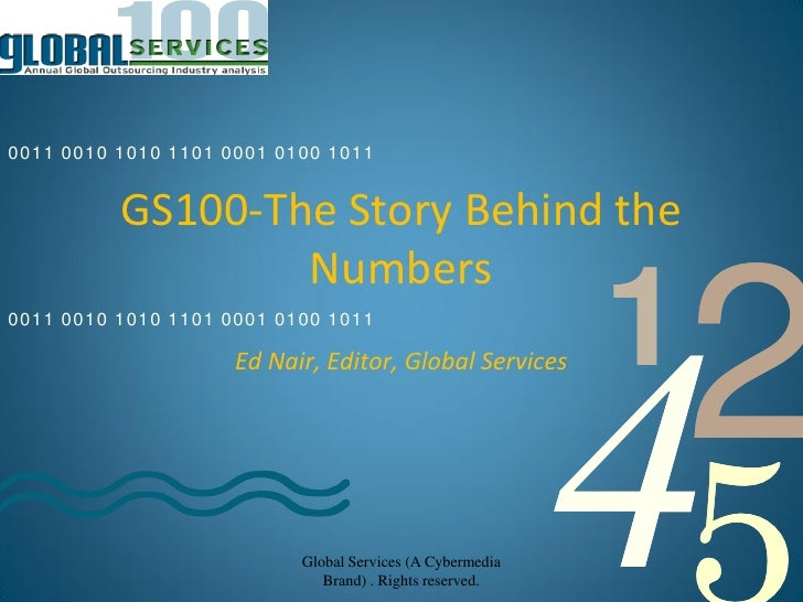 Gs100 the story behind the numbers