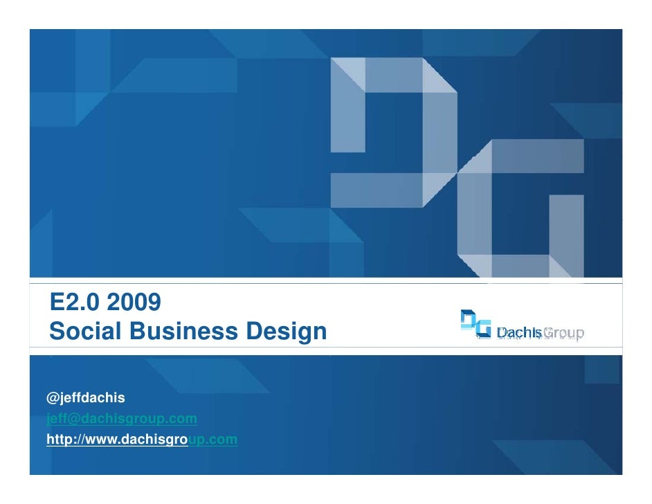 Social Business Design