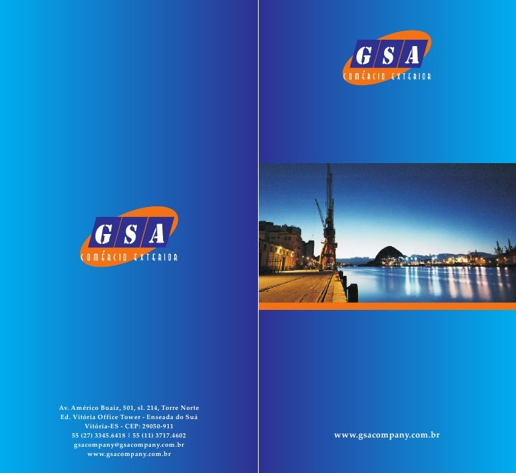 GSA INTERNATIONAL COMPANY COMERCIO EXTERIOR