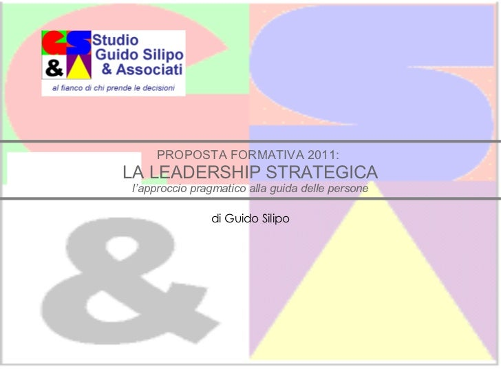 GSA   leadership strategica 2011