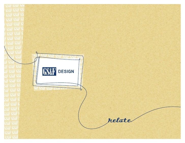 GS&F Design Portfolio
