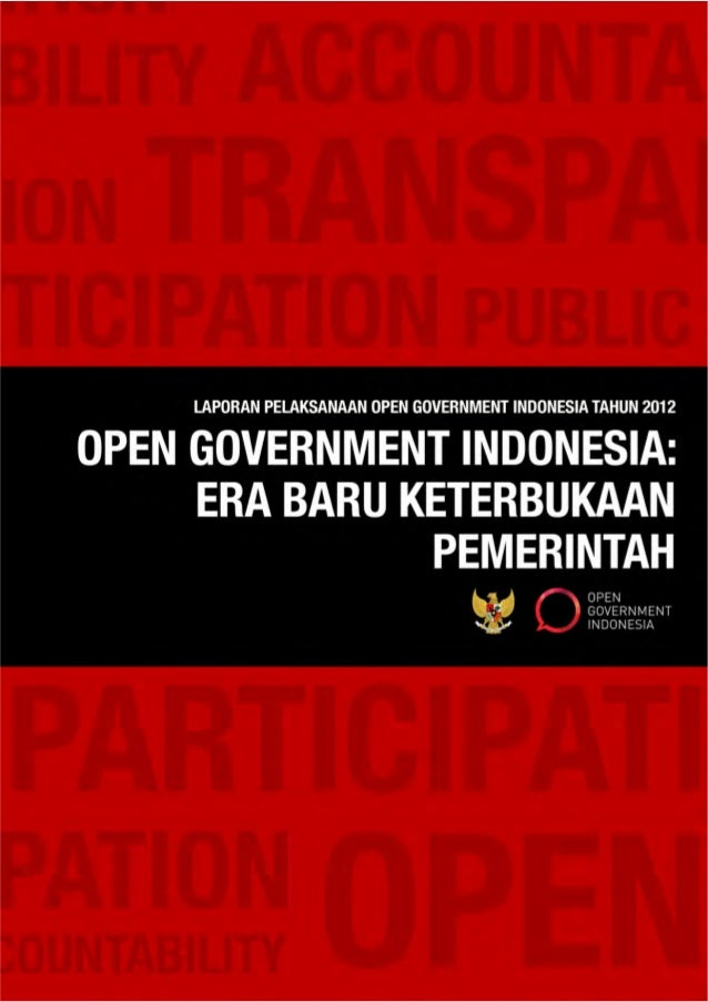 DAFTAR ISIHal Isi2 Ringkasan Eksekutif4 Pendahuluan6 Strategi dan Komitmen IndonesiaKeterbukaan yang Berkelanjutan8 Platfo...