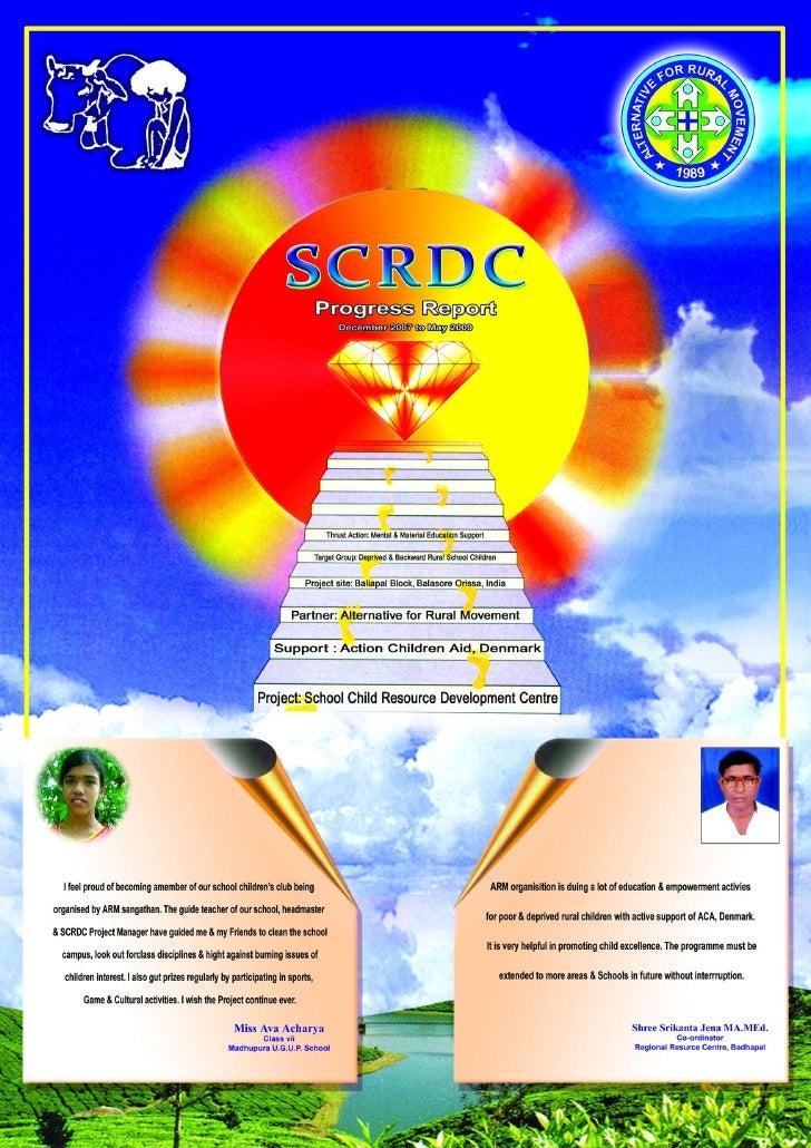 G:\Scrdc Annual Progress Report 2009