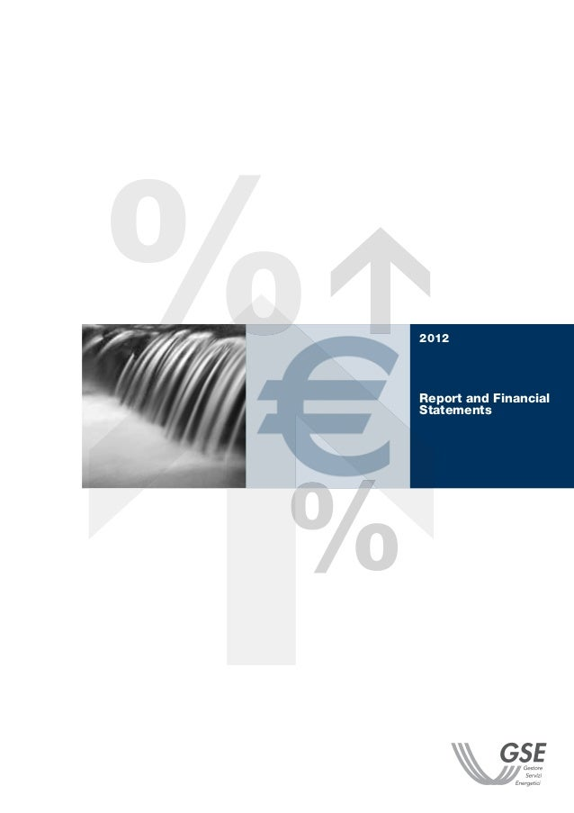 2012  Report and Financial Statements
