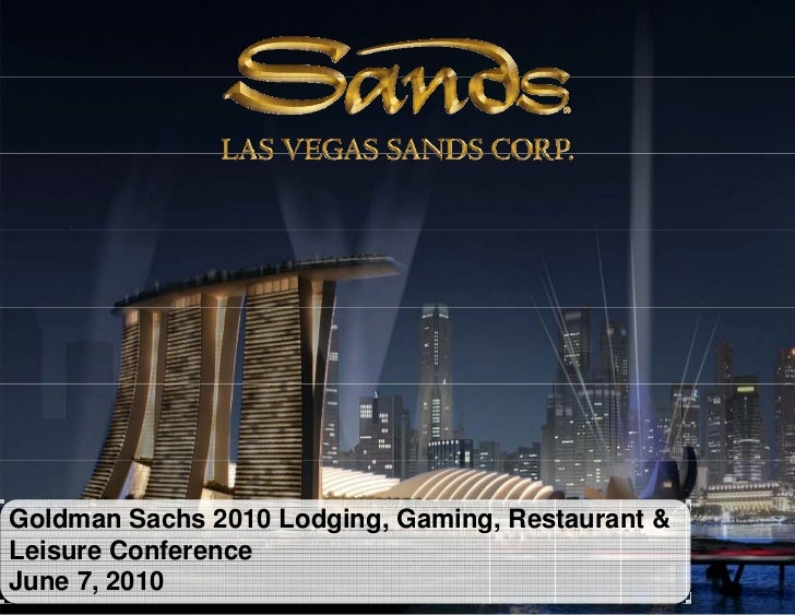 Gs Gaming Conference June 7 2010