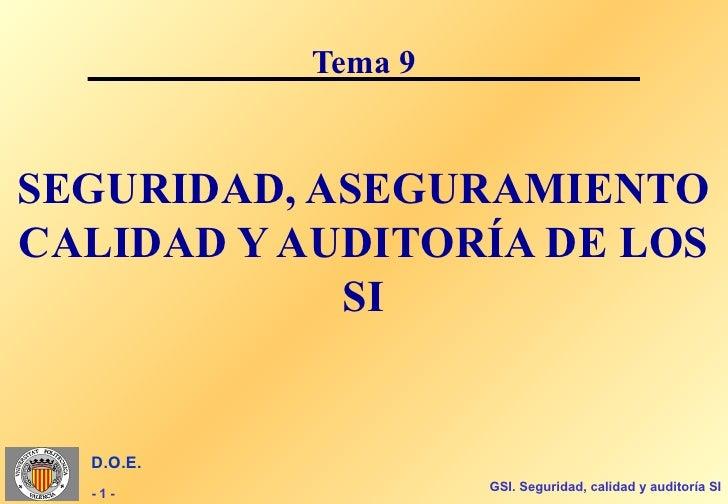 Gsi t09c (seguridad, aseguramiento y auditoria si)