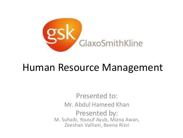 Career Development at GlaxoSmithKline Pakistan (HRM: AHK)
