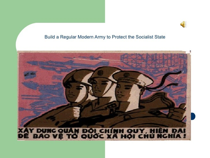 Build a Regular Modern Army to Protect the Socialist State