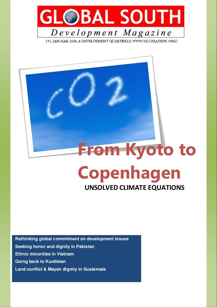 From Kyoto to                               Copenhagen                                UNSOLVED CLIMATE EQUATIONSRethinking...