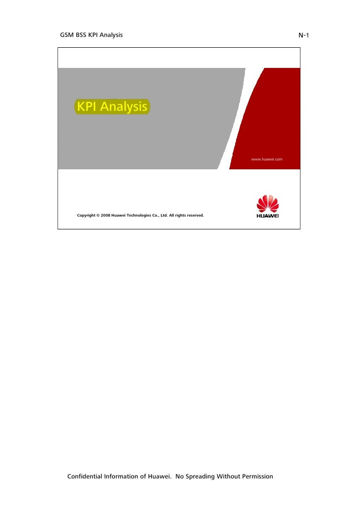 Gsm bss kpi analysis