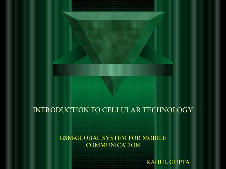 Gsm  Global System For Mobile Comm[1].   Really Nice
