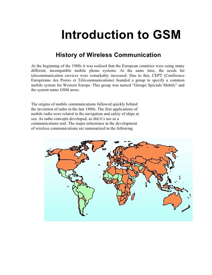 Gsm & Switching