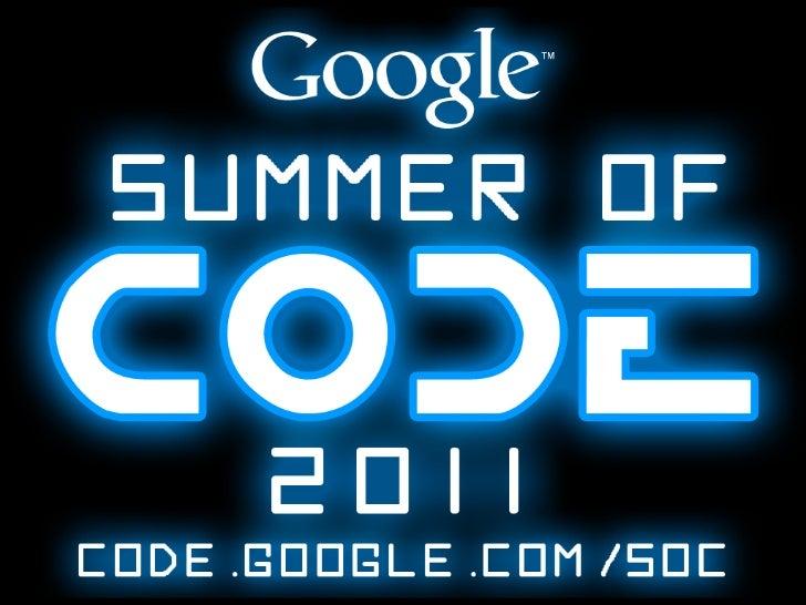 Google Summer of Code 2011 (German)