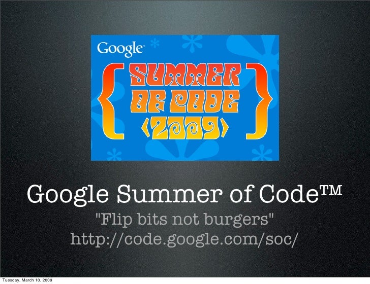 Google Summer of Code™ (in German)