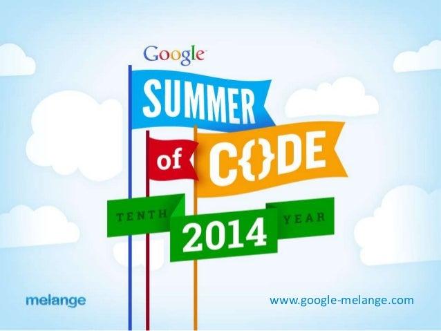 www.google-melange.com