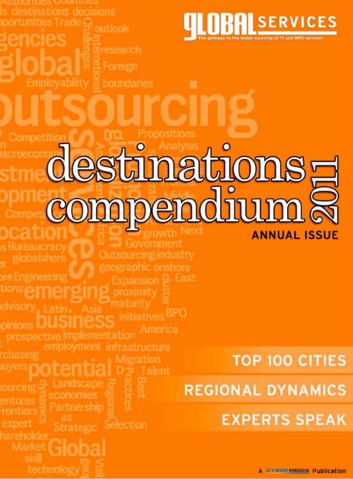 Destinations Compendium 2011