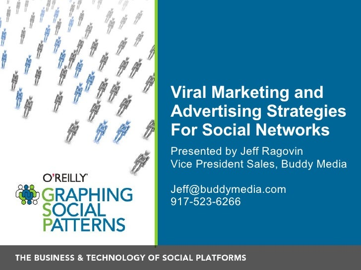 Viral Marketing and Advertising Strategies For Social Networks <ul><li>Presented by Jeff Ragovin </li></ul><ul><li>Vice Pr...