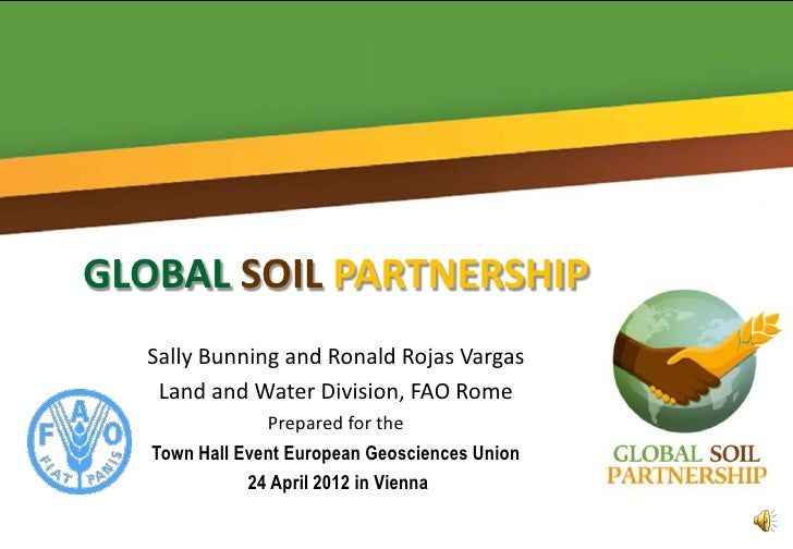 GLOBAL SOIL PARTNERSHIP  Sally Bunning and Ronald Rojas Vargas   Land and Water Division, FAO Rome                Prepared...