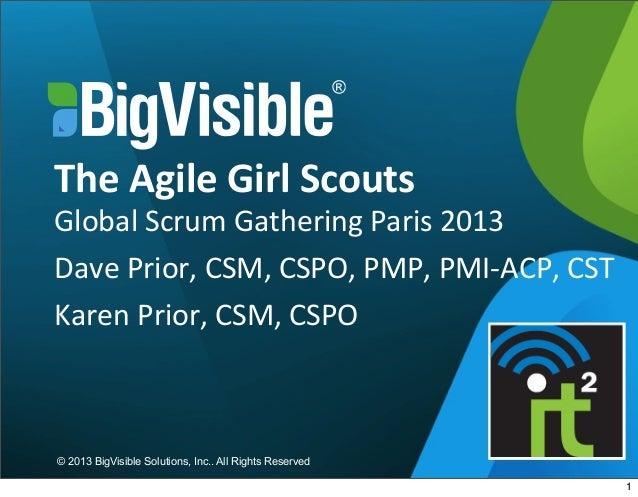 Agile Girl Scouts Presentation