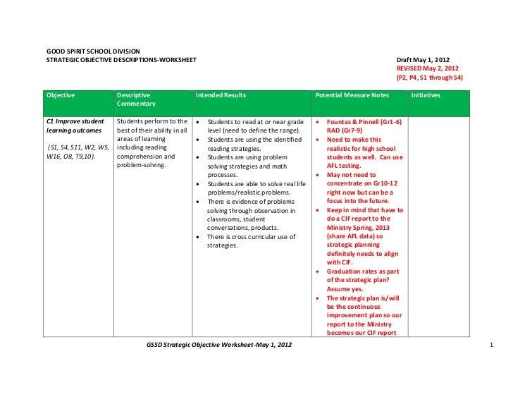 Gssd strategic objectives may1.2012 rev