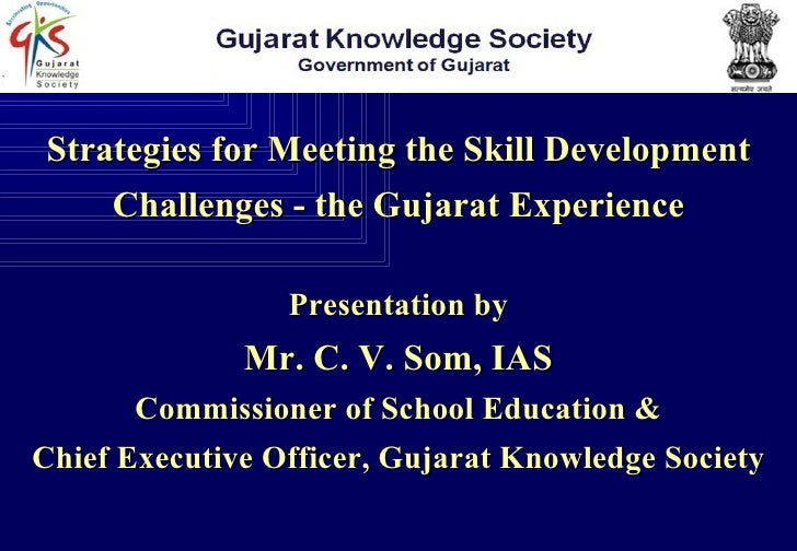 GSS Session VI Mr. C V Som (IAS)