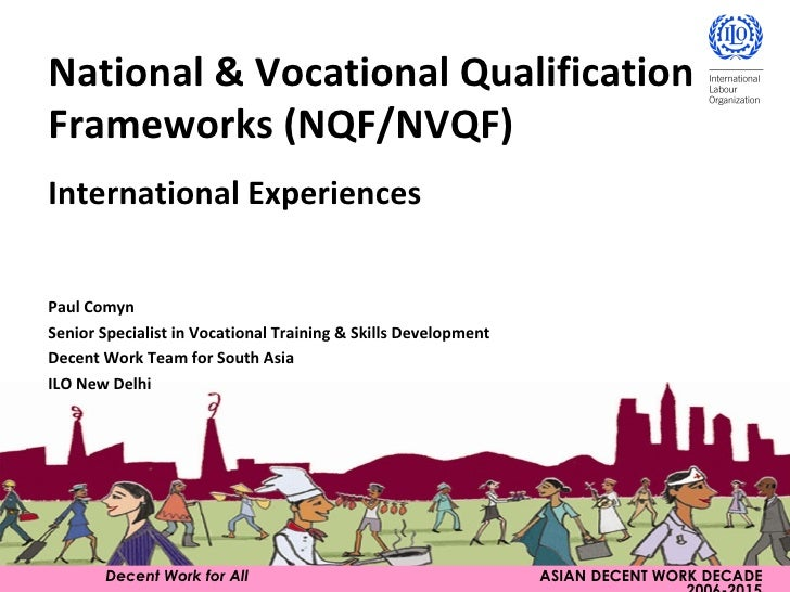 Decent Work for All   ASIAN DECENT WORK DECADE 2006-2015 National & Vocational Qualification Frameworks (NQF/NVQF) Interna...