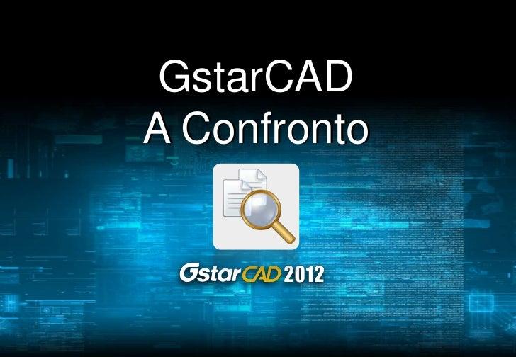 GstarCADA Confronto