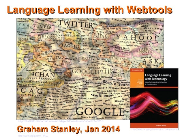Language Learning with Webtools  http://the9988.deviantart.com/art/Map-of-the-Internet-1-0-427143215  Graham Stanley, Jan ...