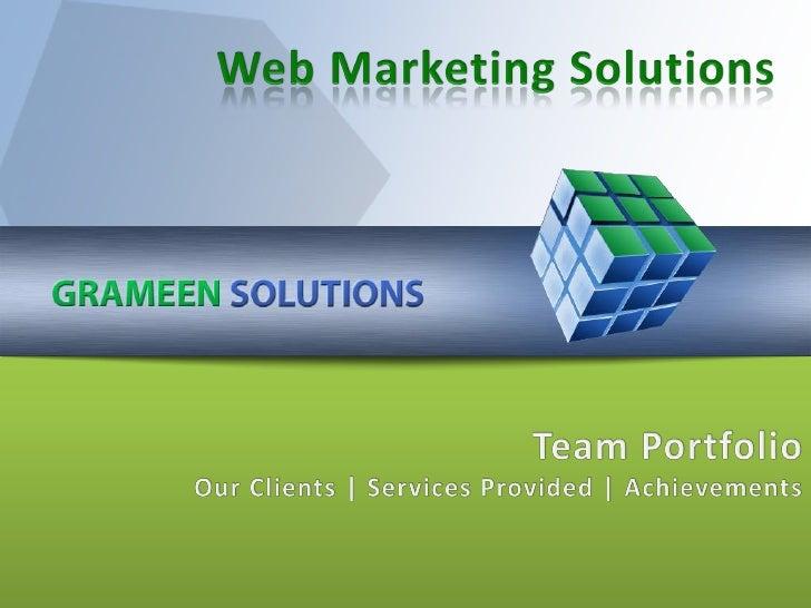Gs Web Marketing Portfolio