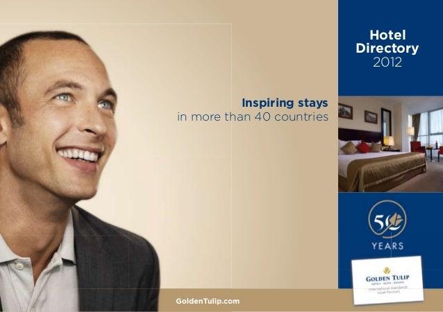 Golden Tulip Hotel Directory 2012