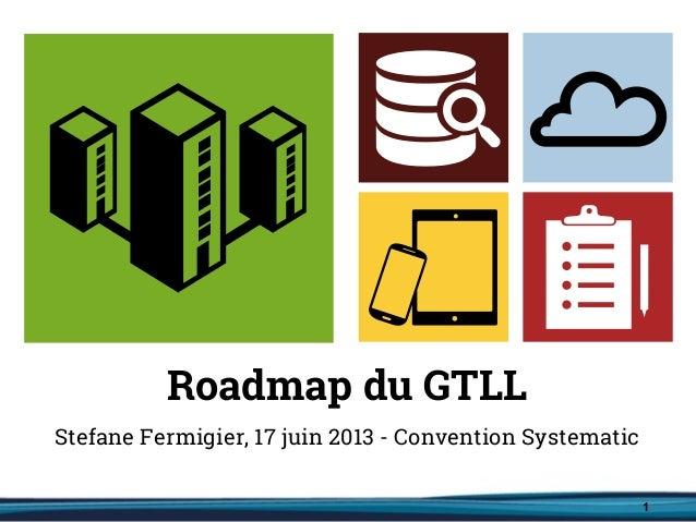 Roadmap du GT Logiciel Libre 2013-2020