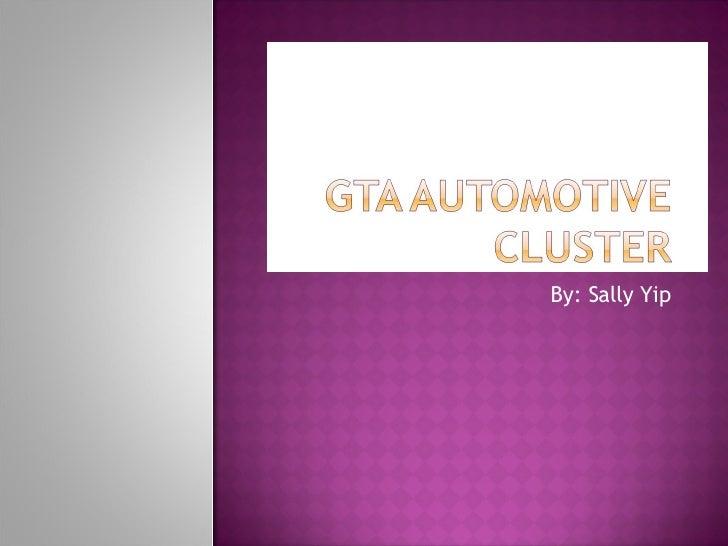 Gta Automotive Cluster