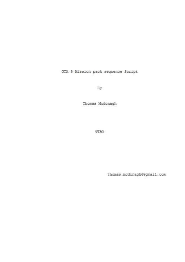 Gta 5 script